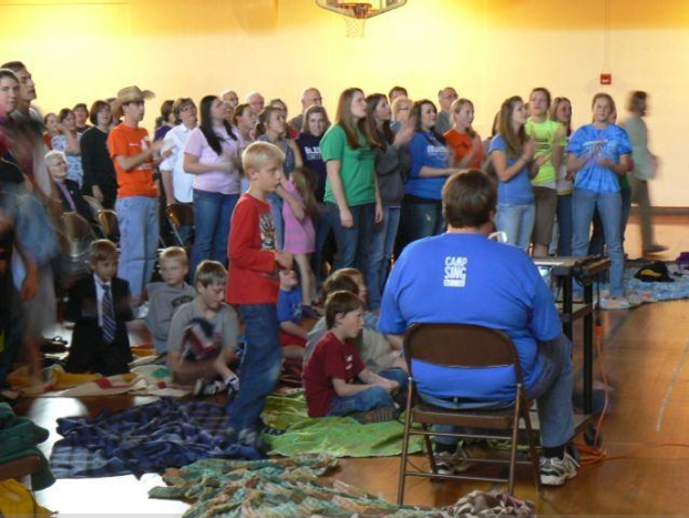 Annual Camp Sing event in collaboration with Camp Mennoscah