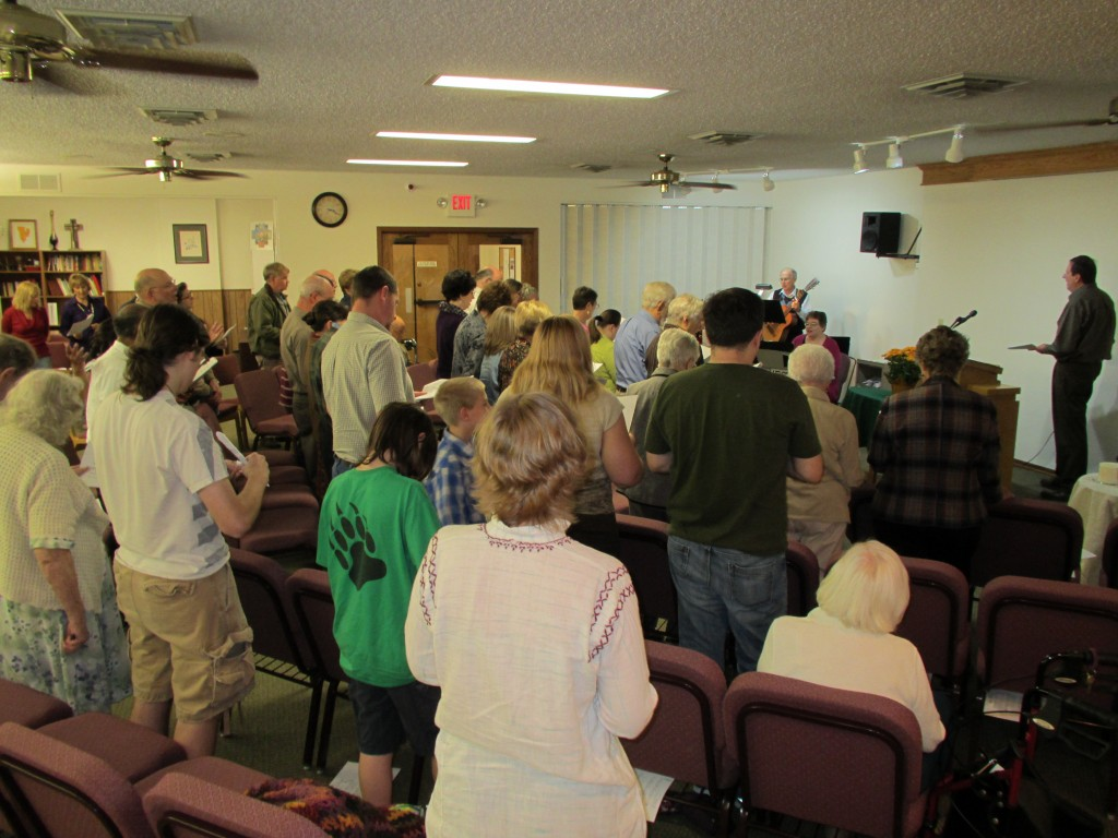 Mennonite Ch of the Servant dedication 102713
